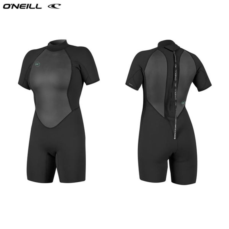 ONeill wetsuits wms REACTOR II 2mm Back Zip S/S Spring Neoprén Női