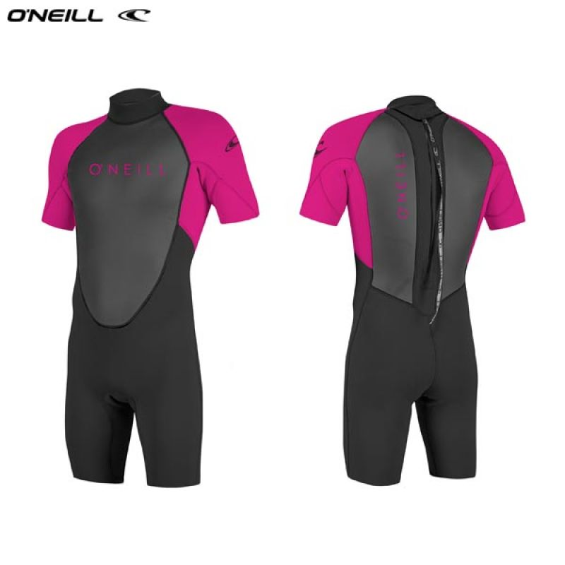 ONeill wetsuits Youth REACTOR II 2mm Back Zip S/S Spring Neoprén Gyerek
