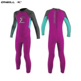 ONeill wetsuits TODDLER REACTOR II 2MM BACK ZIP Girls Neoprén Gyerek