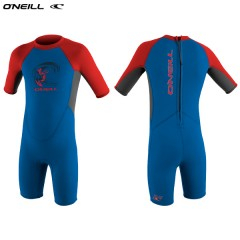 ONeill wetsuits Toddler REACTOR II 2mm Back Zip S/S Spring - Boys  Neoprene Gyerek