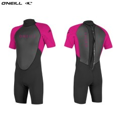 ONeill wetsuits Youth REACTOR II 2mm Back Zip S/S Spring