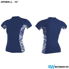 ONeill WMS SIDE PRINT S/S RASH GUARD
